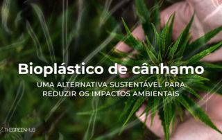 bioplástico de cânhamo