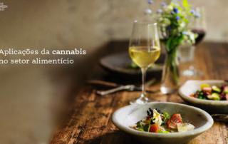 cannabis no setor alimentício
