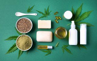 Cosméticos de cannabis