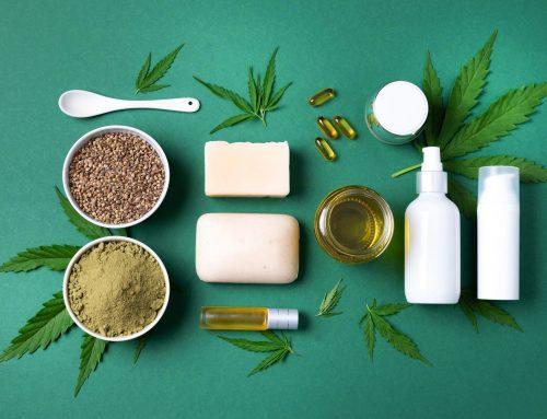 Cosméticos de cannabis: aposta de sucesso!